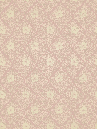 Seamless floral vintage ornament Vector