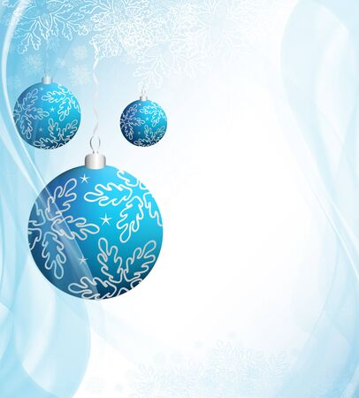 Christmas design background with event balls Stock Photo - 11093276