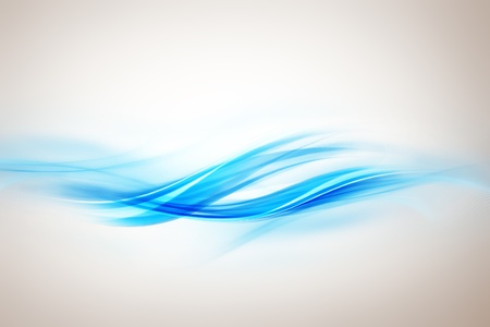 Abstract modern waved background photo