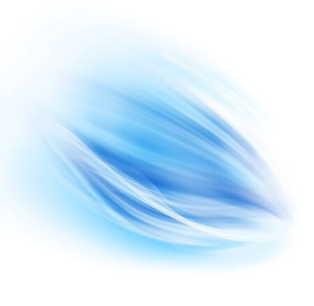 waved: Abstract modern blue and white waved background Stock Photo