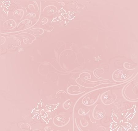 Design vector ornate vintage background  イラスト・ベクター素材
