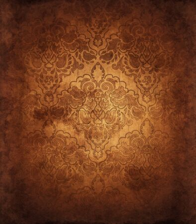 brown swirl: Vintage Brown Grunge Background