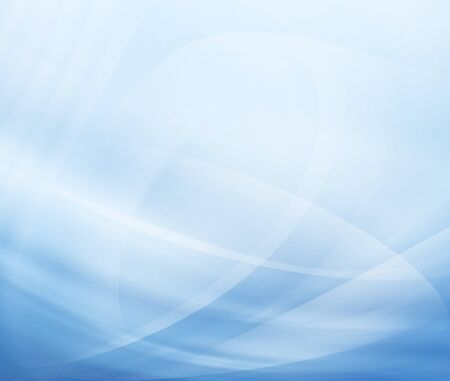 Abstract modern background with blue waves Stock Photo - 15314244