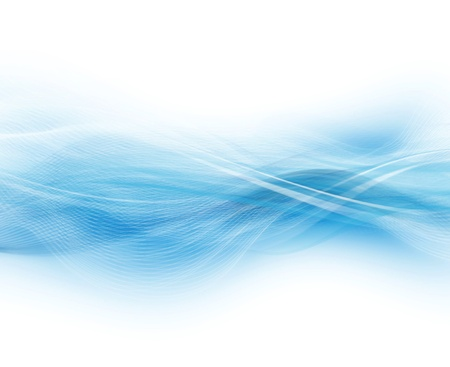Blue And White Abstract Modern Background