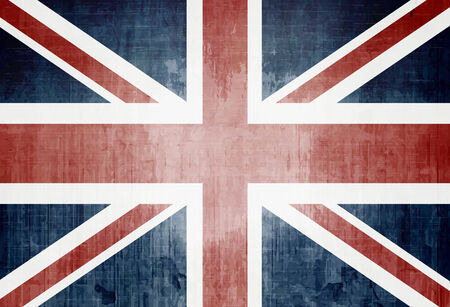 Grunge Flag Of The United Kingdom photo