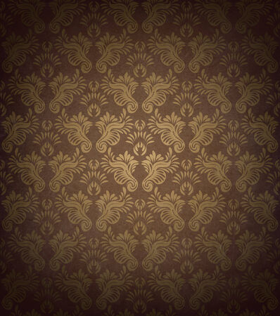 transparence: Vintage Seamless Pattern Illustration