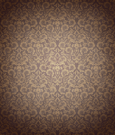 transparence: Vintage Seamless Ornate Design Pattern