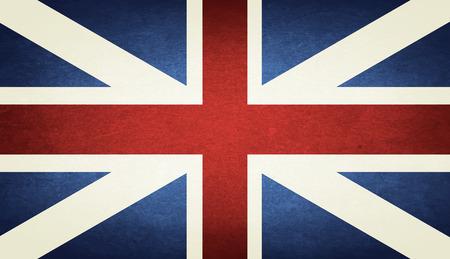 bandera de gran bretaña: Grunge bandera de Gran Bretaña Vectores