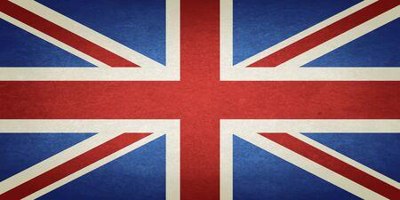 northern ireland: Grunge Flag Of United Kingdom Of Great Britain And Northern Ireland