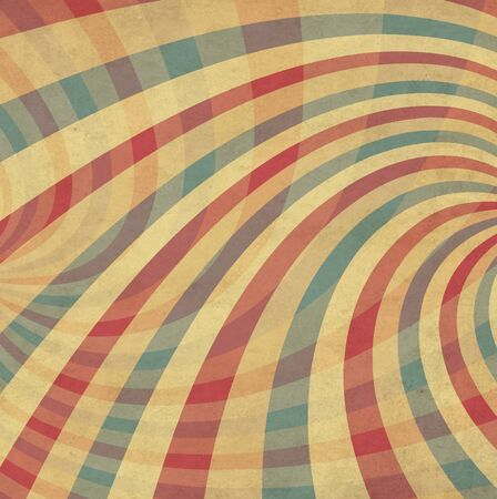 lambent: Vintage Color Dirty Striped Background Illustration