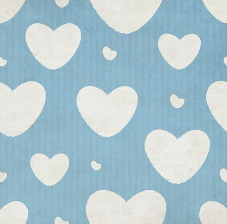 striped background: Grunge Striped Background And White Pattern With Hearts