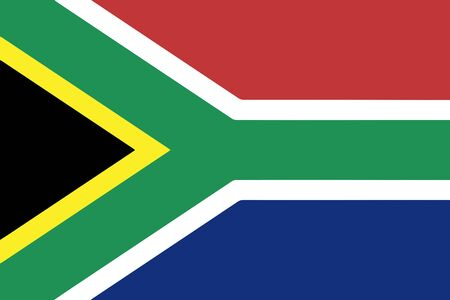 south: Flag Of South Africa