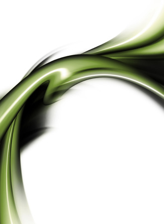 fractal background: Abstract Modern Green, Black And White Background