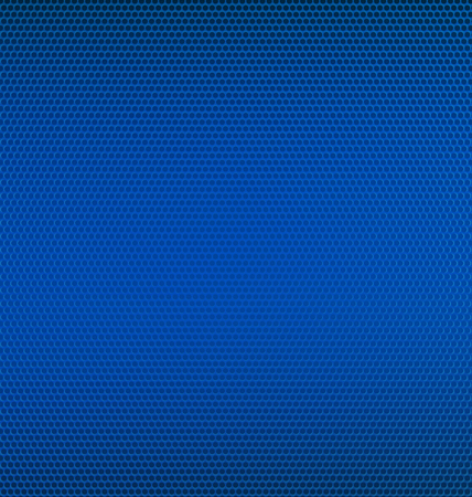 Blue Metal Mesh Textured Background 矢量图像