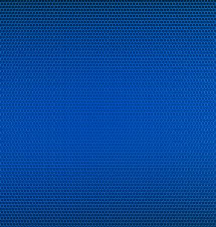 malla metalica: Fondo azul del acoplamiento del metal con textura Vectores