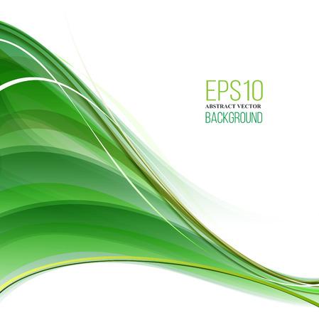 eleganz: Abstrakte moderne grün, gelb und Weißer Hintergrund