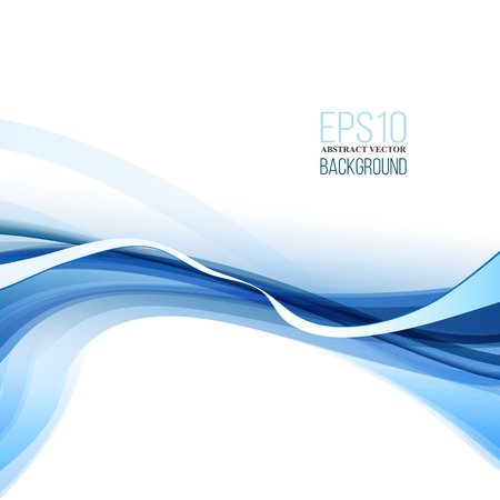 Abstract Modern Blue, Black And White Background