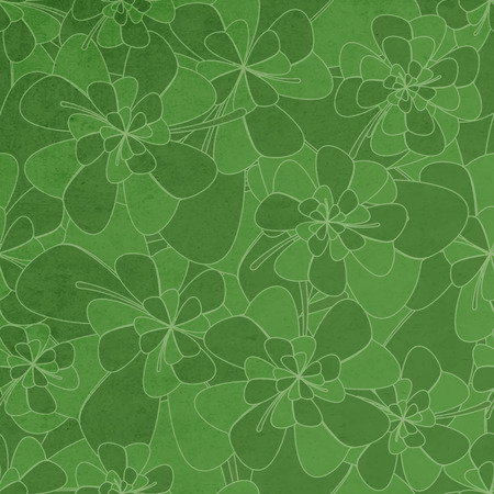 clovers: Saint Patricks Seamless Pattern With Clovers