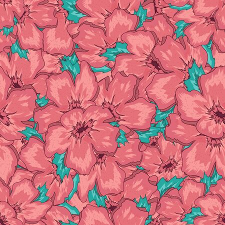 seamless: Seamless Floral Ornamental Pattern Stock Photo