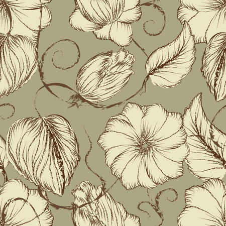 seamless floral: Floral Seamless Pattern