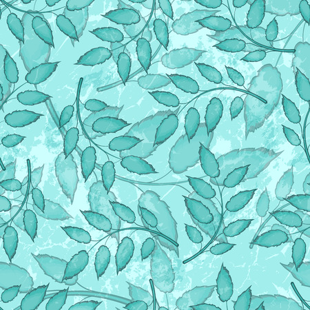 abstract seamless: Seamless Abstract Colorful Pattern With Leaves