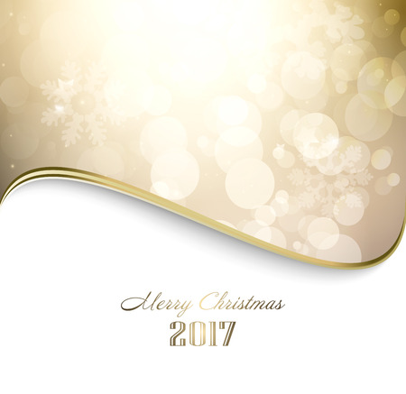 twinkle: Magic Winter Holiday Christmas And New Year Golden  Background With Twinkle And Stars