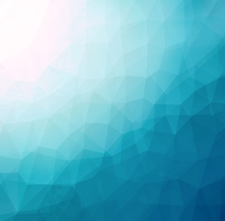 clippng: Abstract LowPoly Triangular Geometric Blue Background