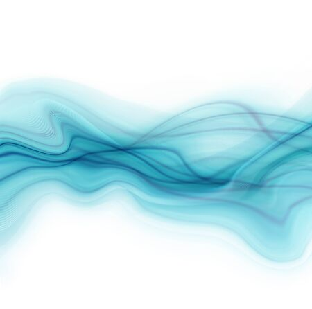 elegantly: Blue and white modern futuristic background with abstract waves