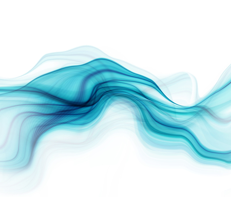 abstract white: Blue and white modern futuristic background with abstract waves