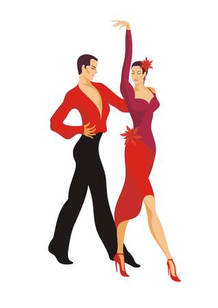 paso doble: couple dances paso doble