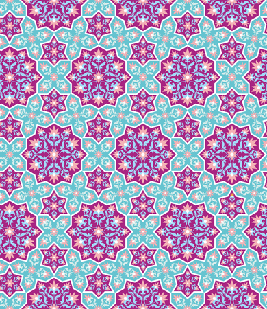 rapport: Arabesque. Pattern in Moorish style. Arab seamless texture. Element of design. Islamic background. Oriental ornament