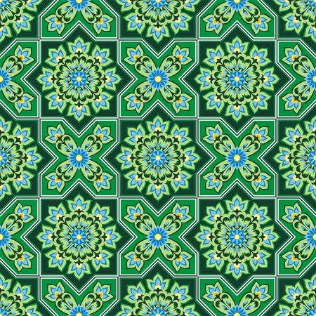rapport: Arabesque. Pattern in Moorish style. Arab seamless texture. Element of design. Islamic background. Oriental ornament.