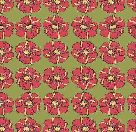 Vector floral background, pattern Stock Vector - 22895573