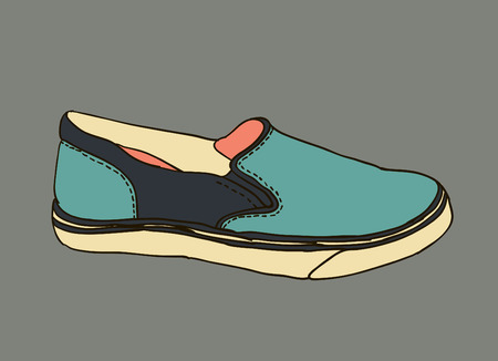 moccasins: colored pattern moccasins shoes
