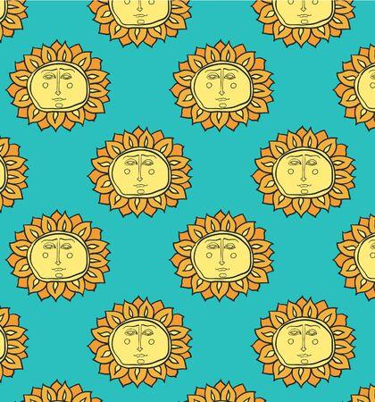 oldened:  Sun background