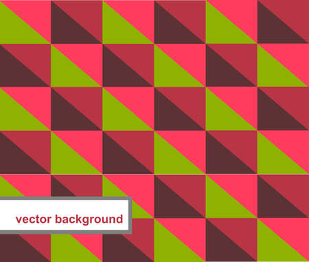 oldened: pattern of geometric shapes Stock Photo
