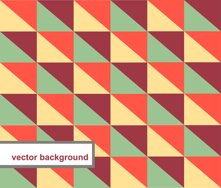 oldened: Vector pattern of geometric shapes