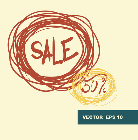 Thirty percent discount background Illustration