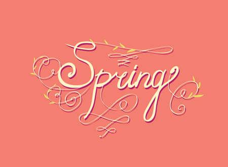 seasons greetings: SEASONS GREETINGS hand lettering - handmade calligraphy, vector (eps8)