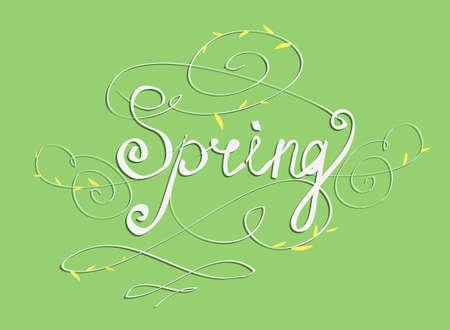 seasons greetings: SEASONS GREETINGS hand lettering - handmade calligraphy Vettoriali