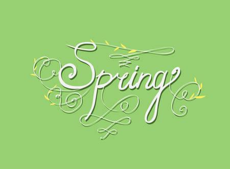 seasons greetings: SALUTI mano lettering DI STAGIONE - calligrafia a mano, vettore (eps8)