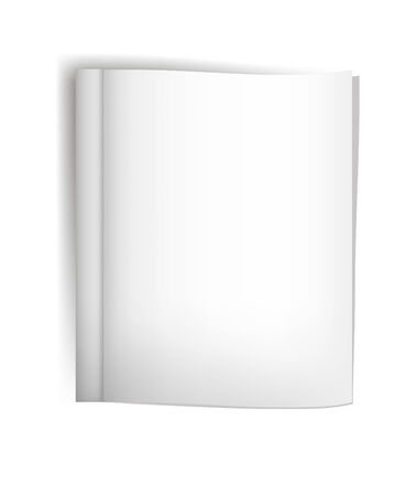 one sheet: White sheet of paper. Isolated render on a grey background