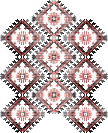 vector background of Ukrainian national ornaments Vector
