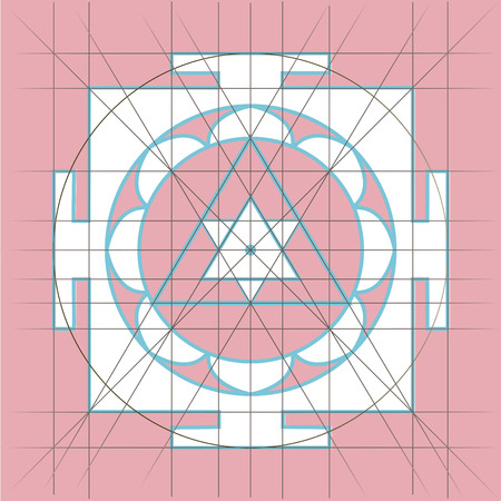 universal enlightenment: Yantra - cosmic conductor of energy. Yantra Sree . Sacred Geometry