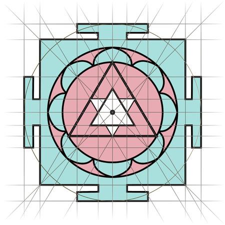 tantra: Yantra - cosmic conductor of energy. Yantra Sree . Sacred Geometry