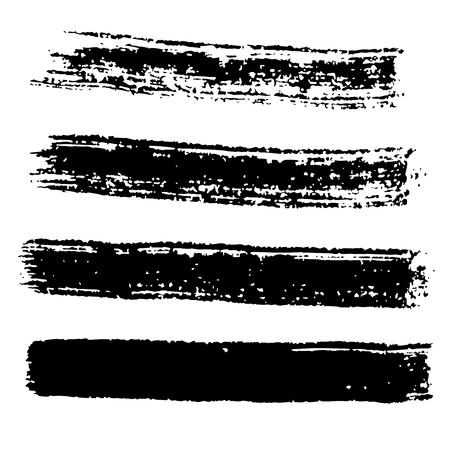 paint stroke: Grunge Brush Stroke .