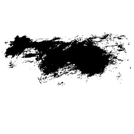 the brush: Stroke grunge del cepillo.