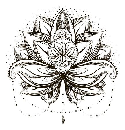 Vector ornamental Lotus Vectores