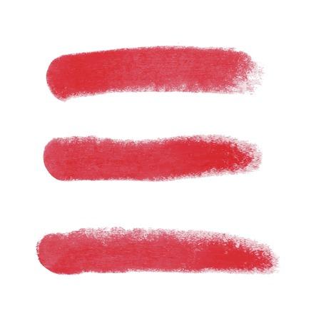 Art beauty design lipstick red mark