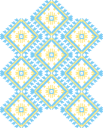 vector Ukrainian national ornaments